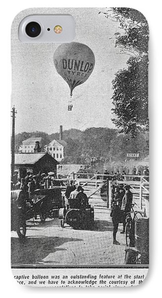 Dunlop Captive Hot Air Balloon IPhone Case by British Library