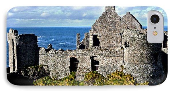 Dunluce Castle IPhone Case by Nina Ficur Feenan