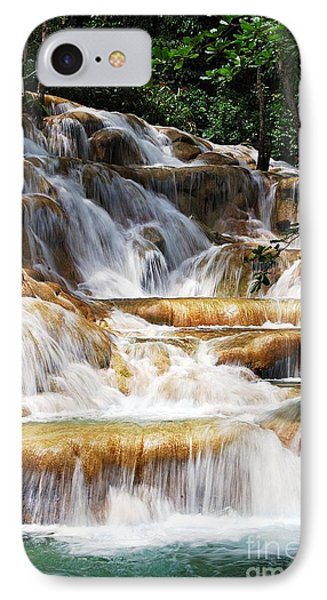Dunn Falls IPhone Case by Hannes Cmarits