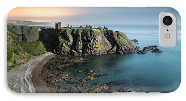 Dunnottar By Moonlight IPhone Case by Dave Bowman