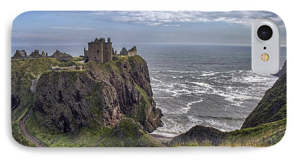Dunnottar Castle And The Scotland Coast IPhone Case by Jason Politte