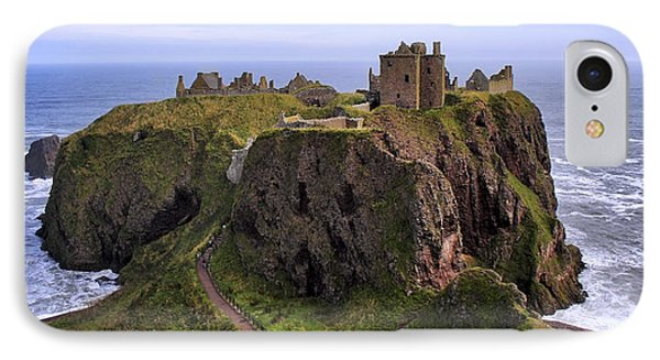 Dunnottar Castle Panorama IPhone Case by Jason Politte