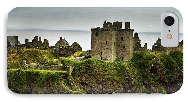 IPhone Case featuring the photograph Dunnottar Castle Scotland by Sally Ross
