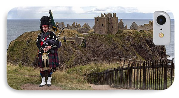 Dunnottar Piper IPhone Case by Eunice Gibb