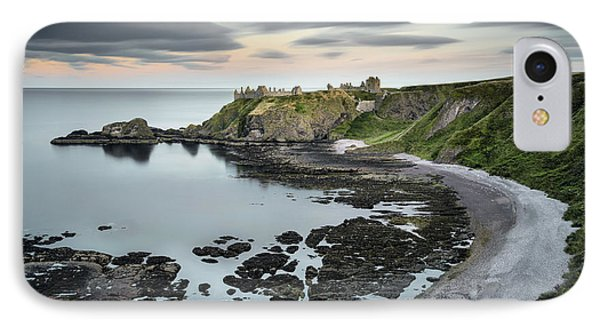 Dunnottar Twilight IPhone Case by Dave Bowman