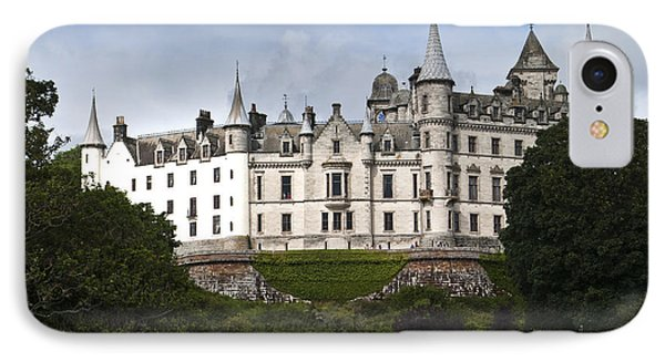 IPhone Case featuring the photograph Dunrobin Castle Golspie Scotland by Sally Ross