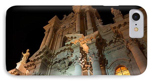 Duomo - Cathedral - Siracusa - Syracuse - Sicily - Italy Phone Case by Georgia Mizuleva