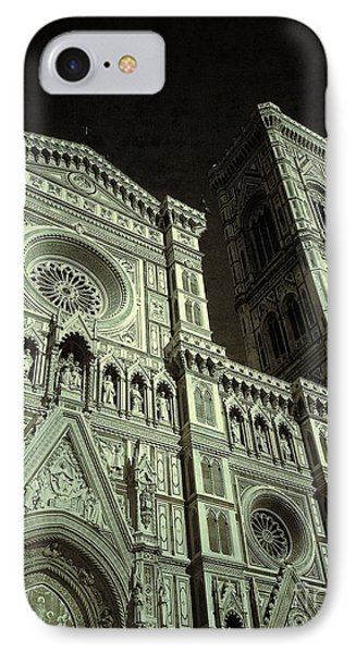 Duomo Di Firenze  IPhone Case by Delona Seserman