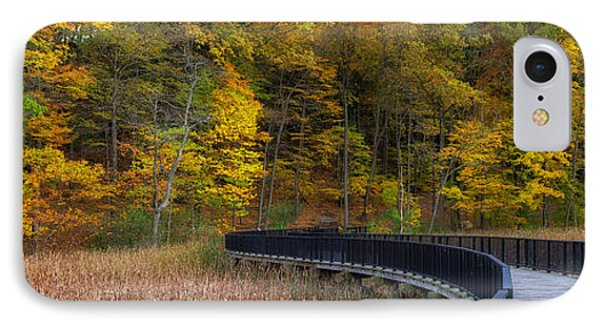 Durand Eastman Park IPhone Case by Mark Papke
