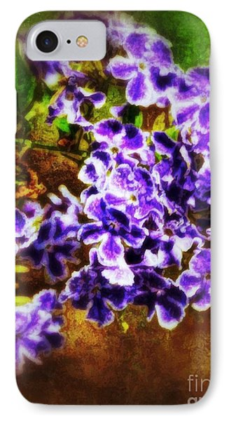 IPhone Case featuring the photograph Durantas- Vintage Blooms by Darla Wood
