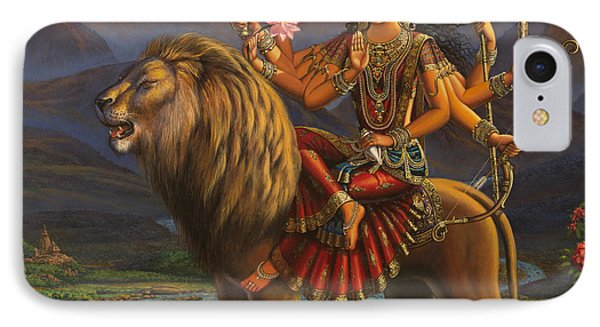 Durga Ma IPhone Case