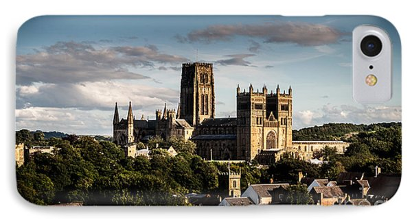 IPhone Case featuring the photograph Durham Cathedral by Matt Malloy