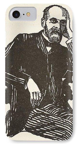 Emile Durkheim IPhone Case by French School