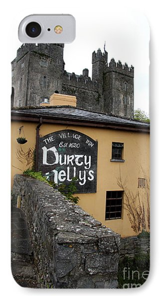 Durty Nellys And Bunraty Castle IPhone Case by Christiane Schulze Art And Photography