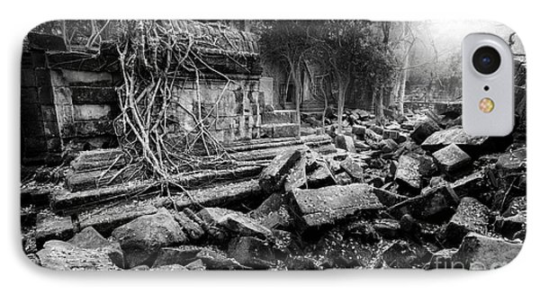 Dusk At Beng Mealea IPhone Case by Julian Cook