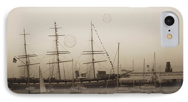 IPhone Case featuring the photograph Dusk At Fishermans Wharf by Hiroko Sakai