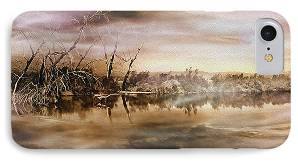 Dusk At The Pond IPhone Case