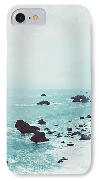 Dusk At The Sea IPhone Case by Lupen  Grainne
