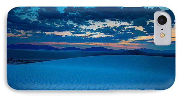 Dusk At White Sands IPhone Case by Allen Biedrzycki