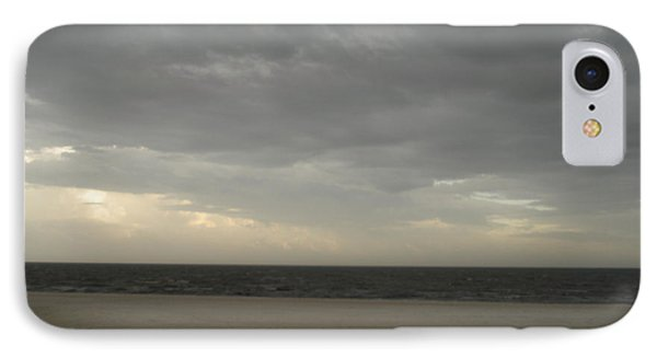 Dusk Beach Walk  IPhone Case by Joseph Baril