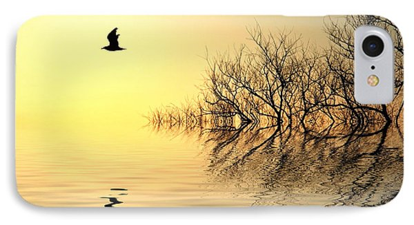Dusk Flight Phone Case by Sharon Lisa Clarke