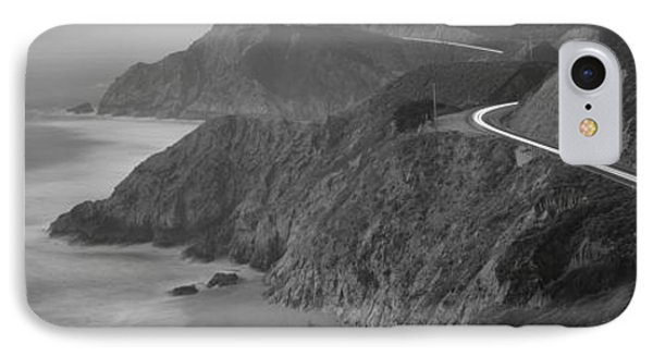 Dusk Highway 1 Pacific Coast Ca Usa IPhone Case
