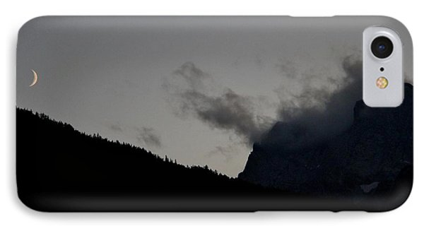 IPhone Case featuring the photograph Dusk In The Alps by Frank Wickham