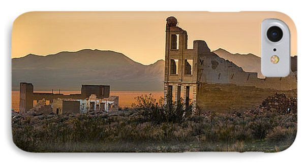 Dusk On Rhyolite IPhone Case by Allen Biedrzycki