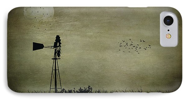 Dusk On The Prairie IPhone Case by Jeff Swanson