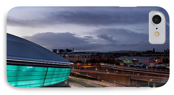 Dusk Over Glasgow IPhone Case by Stephen Taylor