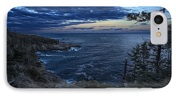 Dusk Vista At Quoddy Head State Park Phone Case by Marty Saccone