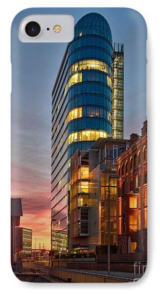 Dusseldorf Media Harbor IPhone Case