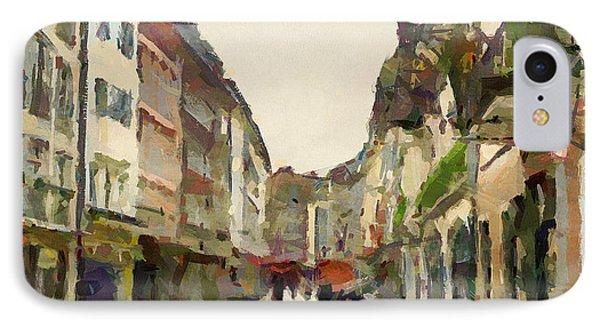Dusseldorf Old Town Street 2 Phone Case by Yury Malkov