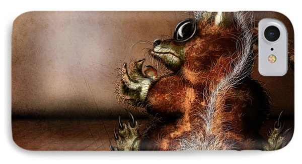 Dust Bunny Phone Case by Jeremy Martinson