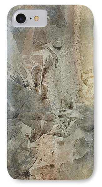 IPhone Case featuring the painting Dust Drift by Rebecca Davis
