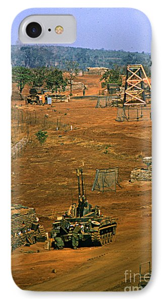 Duster Of 4/60th Artillery At  Lz Oasis Vietnam 1969 IPhone Case by California Views Mr Pat Hathaway Archives