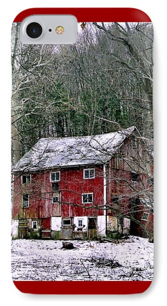 IPhone Case featuring the photograph Pennsylvania Dusting by Michael Hoard