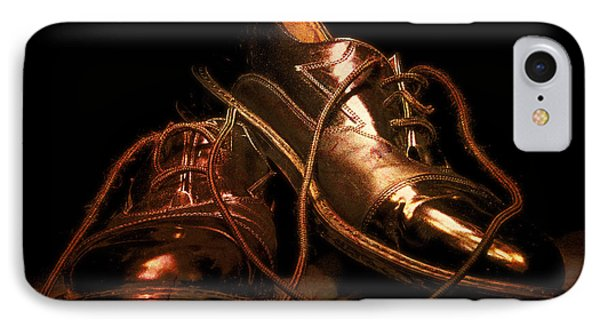 Dusty Dancing Shoes IPhone Case by Phill Petrovic