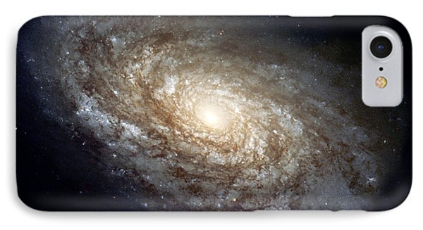 Dusty Spiral Galaxy IPhone Case by Celestial Images