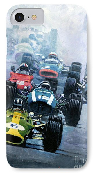 Dutch Gp 1967 Zandvoort IPhone Case