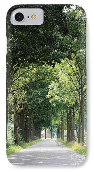 Dutch Landscape - Country Road Phone Case by Carol Groenen