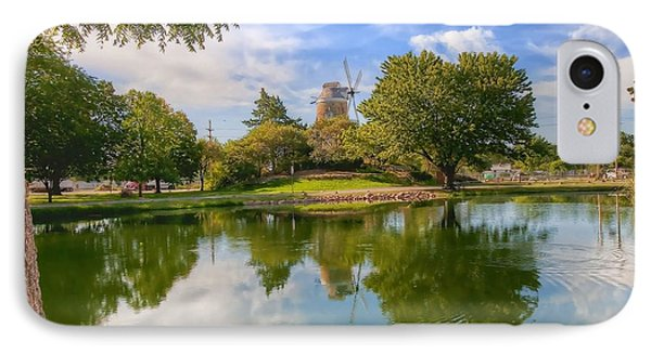 Dutch Mill  IPhone Case by Liane Wright