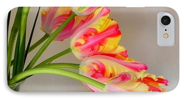 Dutch Tulips IPhone Case by Peggy Stokes
