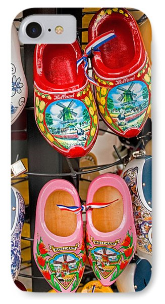 Dutch Wooden Shoes IPhone Case by Dennis Cox WorldViews