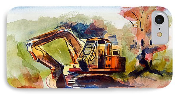 Duty Dozer II IPhone Case by Kip DeVore