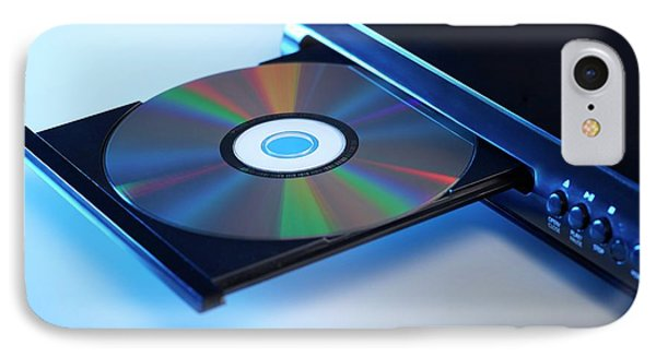 Dvd Player IPhone Case by Science Photo Library