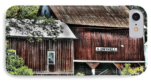Dwinell's Barn IPhone Case by John Nielsen