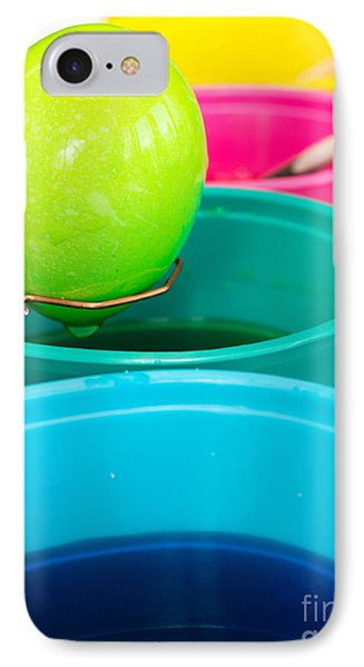 Dying Easter Eggs Phone Case by Edward Fielding