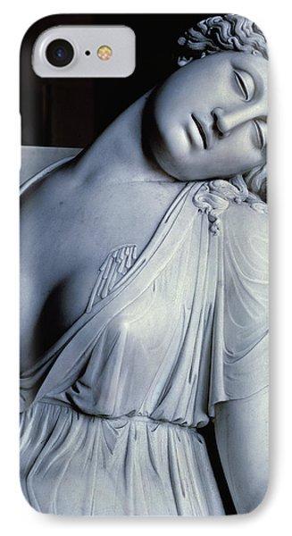 Dying Lucretia  IPhone Case by Damian Buenaventura Campeny y Estrany