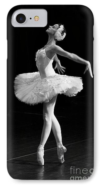 Dying Swan I. IPhone Case